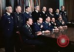 Image of Joint Chiefs of Staff photographed by the press Washington DC USA, 1974, second 49 stock footage video 65675042311