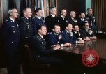Image of Joint Chiefs of Staff photographed by the press Washington DC USA, 1974, second 51 stock footage video 65675042311