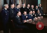 Image of Joint Chiefs of Staff photographed by the press Washington DC USA, 1974, second 52 stock footage video 65675042311