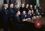 Image of Joint Chiefs of Staff photographed by the press Washington DC USA, 1974, second 53 stock footage video 65675042311
