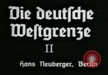 Image of ancient empires Germany, 1936, second 6 stock footage video 65675042337