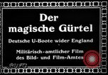 Image of German submarine, U-35 commences voyage Germany, 1917, second 2 stock footage video 65675042358