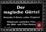 Image of German submarine, U-35 commences voyage Germany, 1917, second 5 stock footage video 65675042358