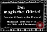 Image of German submarine, U-35 commences voyage Germany, 1917, second 7 stock footage video 65675042358