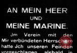 Image of German submarine, U-35 commences voyage Germany, 1917, second 9 stock footage video 65675042358