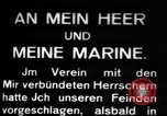 Image of German submarine, U-35 commences voyage Germany, 1917, second 11 stock footage video 65675042358