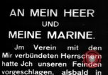 Image of German submarine, U-35 commences voyage Germany, 1917, second 12 stock footage video 65675042358