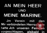 Image of German submarine, U-35 commences voyage Germany, 1917, second 16 stock footage video 65675042358