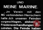 Image of German submarine, U-35 commences voyage Germany, 1917, second 24 stock footage video 65675042358