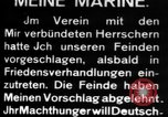 Image of German submarine, U-35 commences voyage Germany, 1917, second 28 stock footage video 65675042358