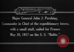 Image of Major General John Pershing France, 1918, second 5 stock footage video 65675042370