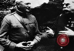 Image of American General John Pershing France, 1918, second 10 stock footage video 65675042371