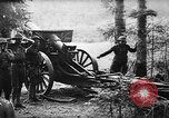 Image of United States 35th Division artillery fires on German Headquarters Wor Soultzeren France, 1918, second 7 stock footage video 65675042390