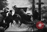 Image of United States 35th Division artillery fires on German Headquarters Wor Soultzeren France, 1918, second 9 stock footage video 65675042390