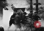 Image of United States 35th Division artillery fires on German Headquarters Wor Soultzeren France, 1918, second 11 stock footage video 65675042390