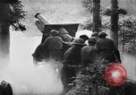 Image of United States 35th Division artillery fires on German Headquarters Wor Soultzeren France, 1918, second 12 stock footage video 65675042390