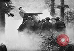 Image of United States 35th Division artillery fires on German Headquarters Wor Soultzeren France, 1918, second 13 stock footage video 65675042390