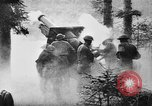 Image of United States 35th Division artillery fires on German Headquarters Wor Soultzeren France, 1918, second 14 stock footage video 65675042390