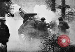 Image of United States 35th Division artillery fires on German Headquarters Wor Soultzeren France, 1918, second 15 stock footage video 65675042390