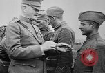 Image of Armistice celebrations World War 1 and Pershing decorates France, 1918, second 60 stock footage video 65675042395