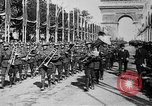 Image of Victory parade end World War 1 France, 1919, second 15 stock footage video 65675042396