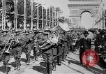 Image of Victory parade end World War 1 France, 1919, second 18 stock footage video 65675042396