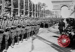 Image of Victory parade end World War 1 France, 1919, second 21 stock footage video 65675042396