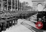 Image of Victory parade end World War 1 France, 1919, second 25 stock footage video 65675042396