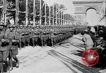 Image of Victory parade end World War 1 France, 1919, second 27 stock footage video 65675042396