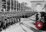 Image of Victory parade end World War 1 France, 1919, second 36 stock footage video 65675042396