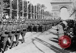 Image of Victory parade end World War 1 France, 1919, second 38 stock footage video 65675042396