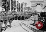 Image of Victory parade end World War 1 France, 1919, second 39 stock footage video 65675042396