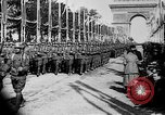 Image of Victory parade end World War 1 France, 1919, second 40 stock footage video 65675042396