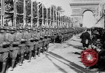 Image of Victory parade end World War 1 France, 1919, second 49 stock footage video 65675042396