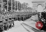 Image of Victory parade end World War 1 France, 1919, second 52 stock footage video 65675042396