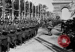 Image of Victory parade end World War 1 France, 1919, second 54 stock footage video 65675042396