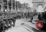 Image of Victory parade end World War 1 France, 1919, second 57 stock footage video 65675042396