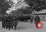 Image of WWI American soldiers at a funeral France, 1918, second 2 stock footage video 65675042397