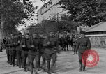 Image of WWI American soldiers at a funeral France, 1918, second 3 stock footage video 65675042397