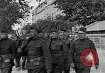 Image of WWI American soldiers at a funeral France, 1918, second 6 stock footage video 65675042397