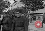 Image of WWI American soldiers at a funeral France, 1918, second 7 stock footage video 65675042397
