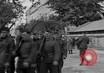 Image of WWI American soldiers at a funeral France, 1918, second 8 stock footage video 65675042397