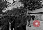 Image of WWI American soldiers at a funeral France, 1918, second 9 stock footage video 65675042397