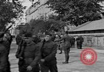 Image of WWI American soldiers at a funeral France, 1918, second 10 stock footage video 65675042397