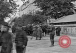 Image of WWI American soldiers at a funeral France, 1918, second 11 stock footage video 65675042397