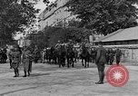 Image of WWI American soldiers at a funeral France, 1918, second 15 stock footage video 65675042397