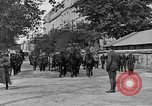 Image of WWI American soldiers at a funeral France, 1918, second 17 stock footage video 65675042397