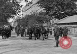 Image of WWI American soldiers at a funeral France, 1918, second 18 stock footage video 65675042397