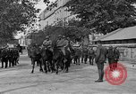 Image of WWI American soldiers at a funeral France, 1918, second 20 stock footage video 65675042397