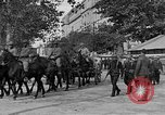 Image of WWI American soldiers at a funeral France, 1918, second 23 stock footage video 65675042397